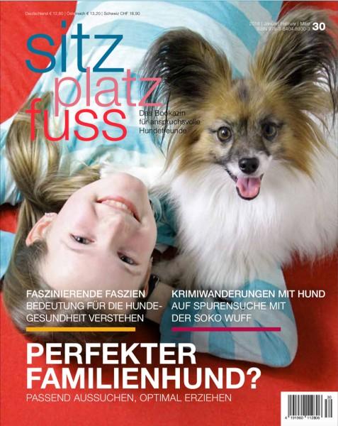 SitzPlatzFuss (30) – Das Bookazin für anspruchsvolle Hundefreunde