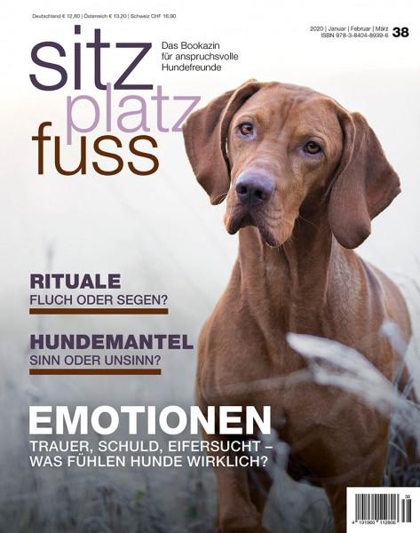 SitzPlatzFuss (38) – Das Bookazin für anspruchsvolle Hundefreunde