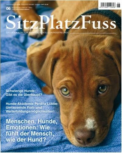 SitzPlatzFuss (6) – Das Bookazin für anspruchsvolle Hundefreunde