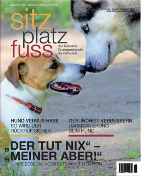 SitzPlatzFuss (28) – Das Bookazin für anspruchsvolle Hundefreunde