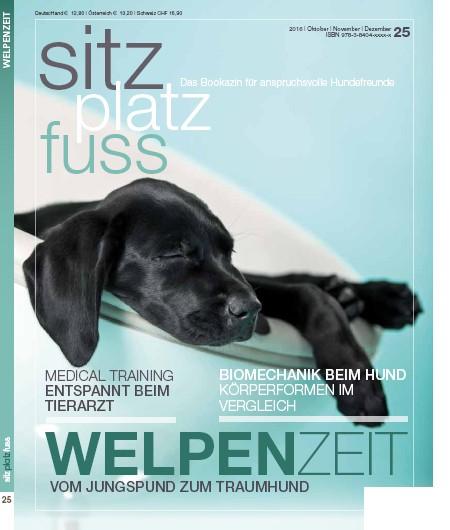 SitzPlatzFuss (25) – Das Bookazin für anspruchsvolle Hundefreunde