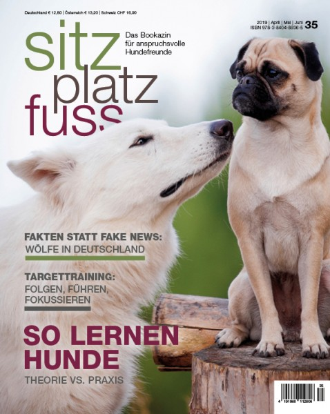 SitzPlatzFuss (35) – Das Bookazin für anspruchsvolle Hundefreunde