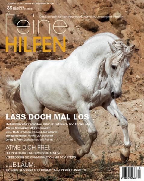 Feine Hilfen (35) – Das Bookazin für den verantwortungsvollen Umgang mit Pferden