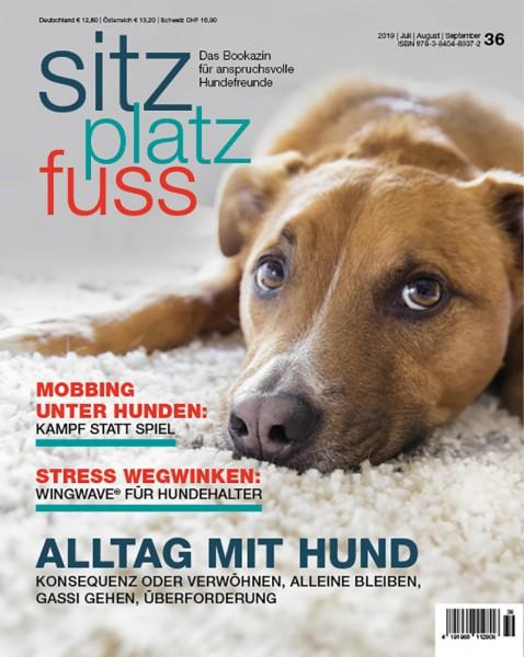 SitzPlatzFuss (36) – Das Bookazin für anspruchsvolle Hundefreunde