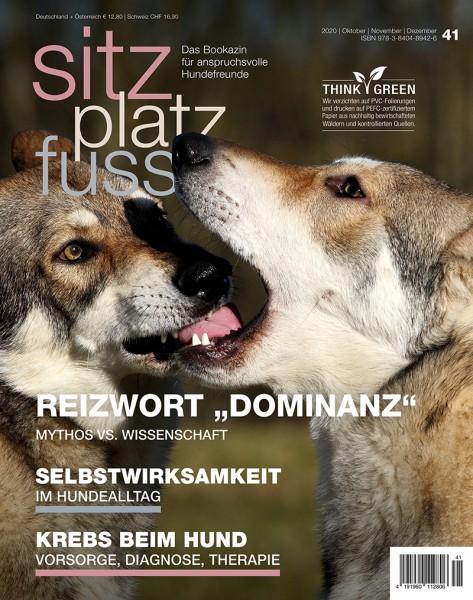SitzPlatzFuss (41) – Das Bookazin für anspruchsvolle Hundefreunde