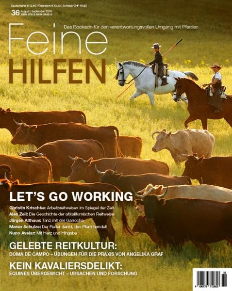 Feine Hilfen (36) – Das Bookazin für den verantwortungsvollen Umgang mit Pferden