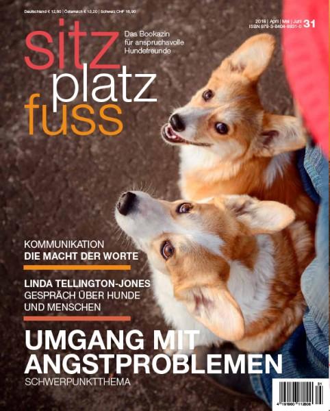 SitzPlatzFuss (31) – Das Bookazin für anspruchsvolle Hundefreunde