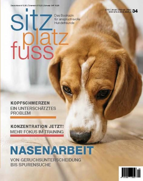 SitzPlatzFuss (34) – Das Bookazin für anspruchsvolle Hundefreunde