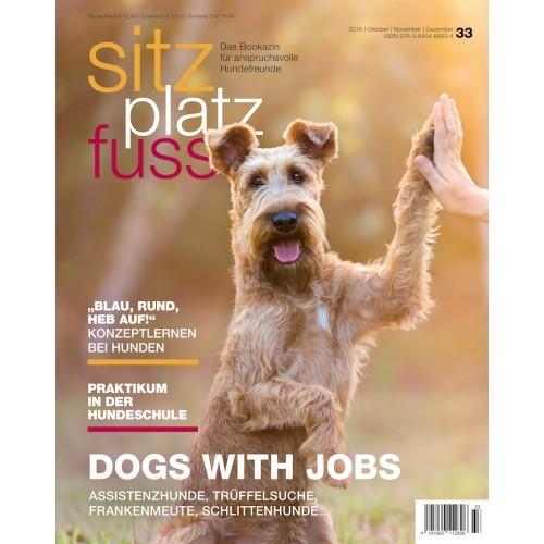 SitzPlatzFuss (33) – Das Bookazin für anspruchsvolle Hundefreunde