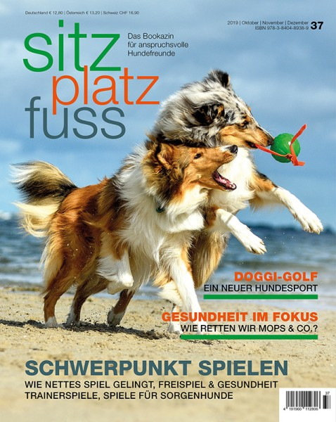 SitzPlatzFuss (37) – Das Bookazin für anspruchsvolle Hundefreunde