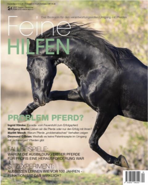 Feine Hilfen (24) – Das Bookazin für den verantwortungsvollen Umgang mit Pferden