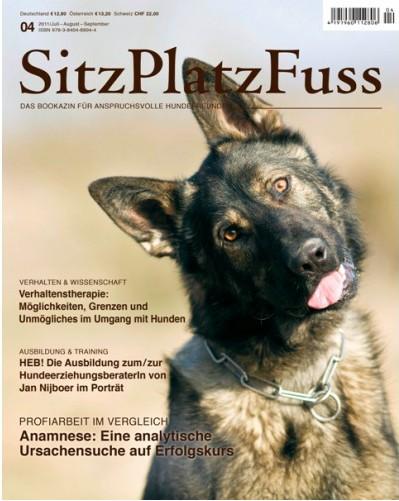 SitzPlatzFuss (4) – Das Bookazin für anspruchsvolle Hundefreunde