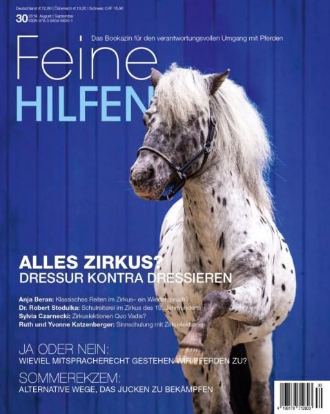 Feine Hilfen (30) – Das Bookazin für den verantwortungsvollen Umgang mit Pferden